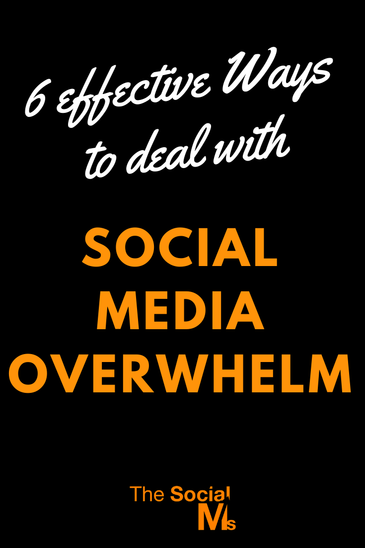 social media overwhelm is not only unproductive but counterproductive as it engages valuable human resources and turns them from active marketers to virtually passive ducks with no clear direction, strategy or means to hit their target. Here is how to deal with social media when it all becomes too much. #socialmedia #socialmediamarketng #socialmediatips #socialmediastrategy