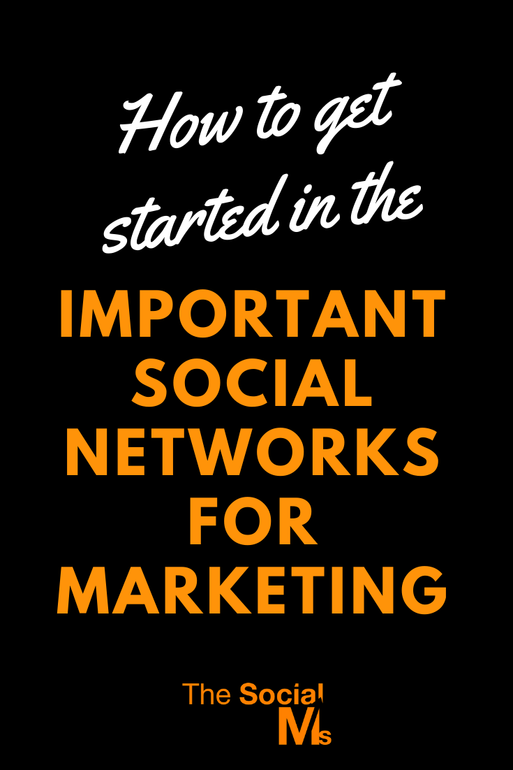 """Which social networks should you be using, what results can you expect from them, and how can you get started for """"quick"""" results. #socialmedia #socialnetwork #socialmediamarketing #socialmediatips"""