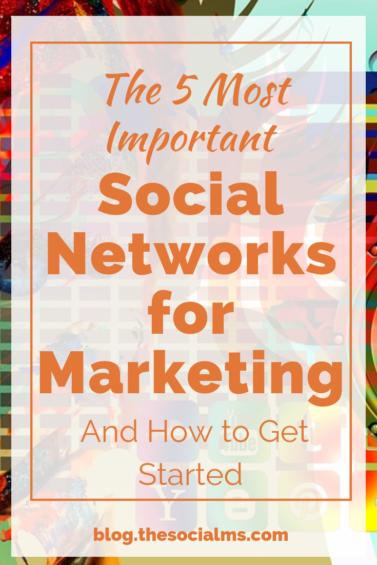 Which are important social networks for marketing? What benefits can you get from them? How are the social networks different from a social media marketing perspective? Here are the most important facts about the social networks you should consider. #socialmedia #socialmediatips #socialmediamarketing #socialmediastrategy