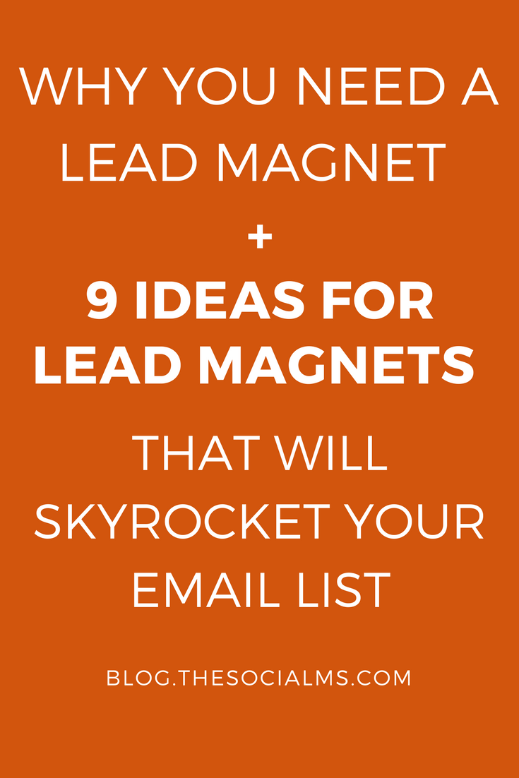 Lead magnets have an important role in the online marketing sales funnel: Why you need them, what they can do for you and what you can use as a lead magnet. -sales funnel, email list, list building, subscriber, lead generation