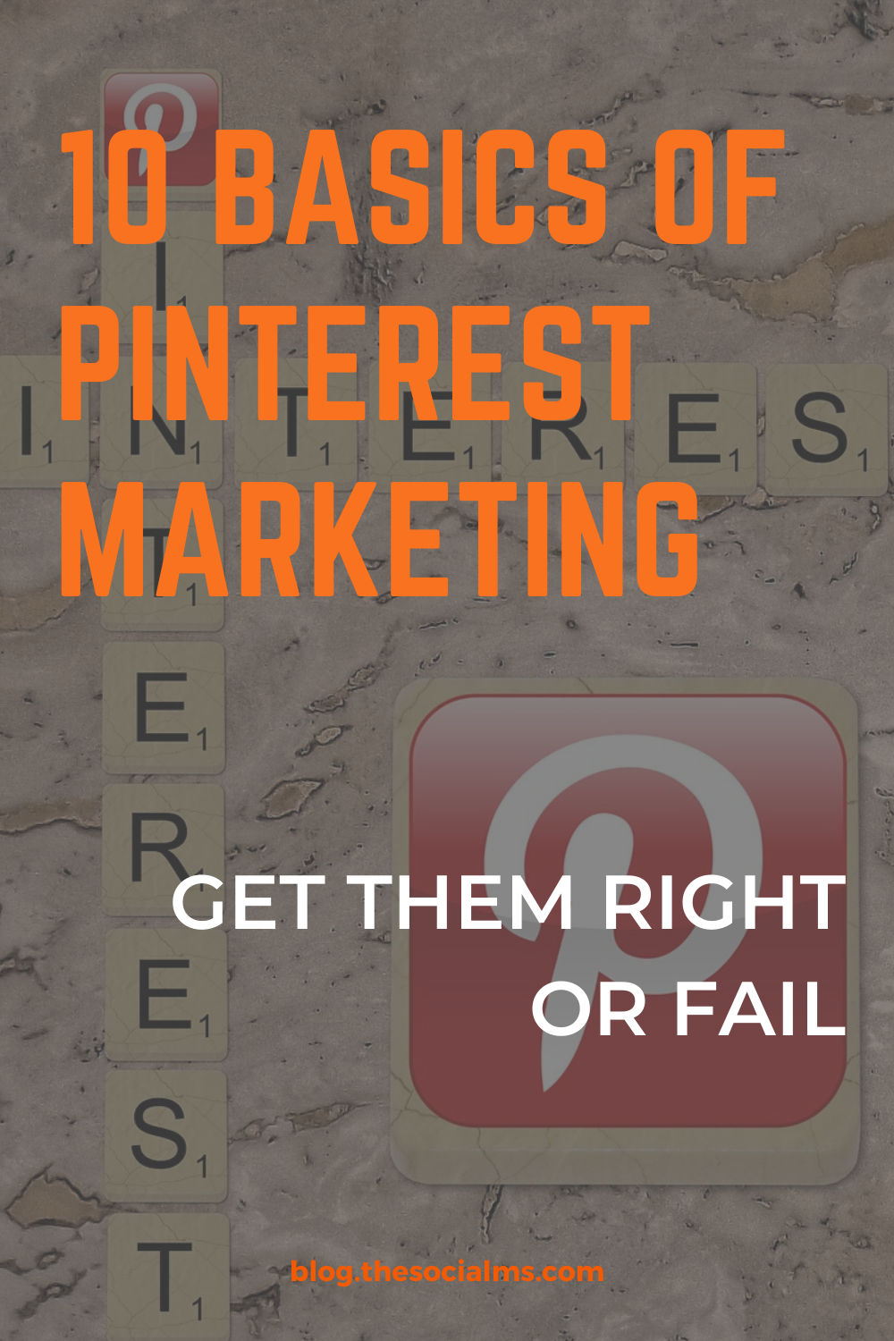 There are some basics you absolutely need to do on Pinterest or you will not see any kind of measurable results. So, to get you started, here are 10 things you need to do before you can expect your Pinterest marketing to take off. Before you start looking for traffic from Pinterest, get these right. #pinterest #pinterestbasics #pinterestmarketing #pinteresttips #blogtraffic #trafficgeneration #socialmedia #socialmediatips