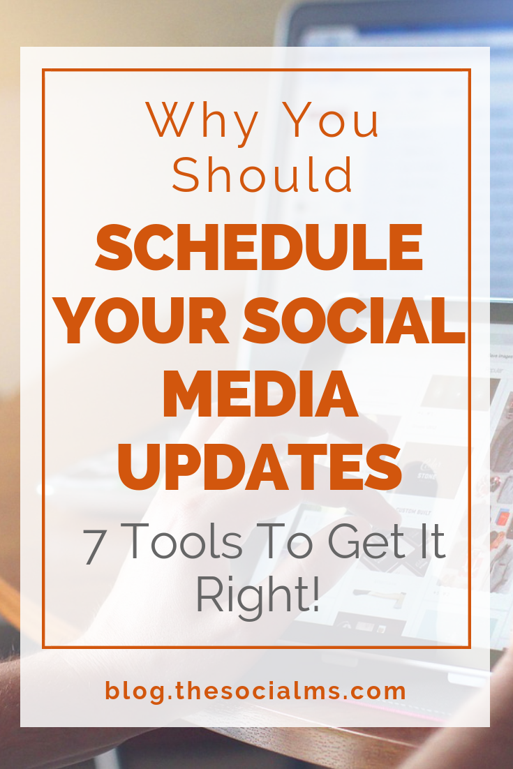 For more social media marketing success you should consider scheduling social media updates. Here is why social media scheduling will boost your business. Keep your social media accounts active for better social media results with these tools. #socialmediamarketing #socialmediatips #socialmediastrategy #socialmediatraffic #trafficgeneration #socialmediaautomation
