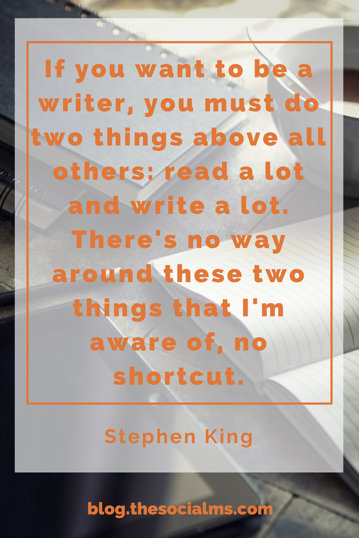 Blogging and writing tips: Read more!