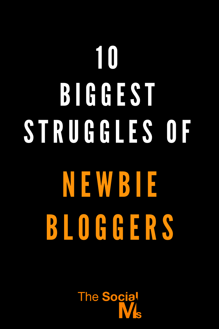 blogging is a struggle when you are starting out. You can make the struggle easier, or conquer them more quickly if you come prepared and learn fast. But struggle you will. Here are the biggest struggles of new bloggers and what you can do to avoid them #bloggingforbeginners #bloggingtips #startablog #bloggingsuccess #bloggingmistakes