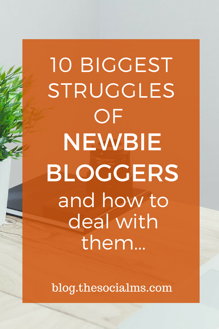 Many newbie bloggers face a lot of challenges. Here are some of the biggest blogging struggles and how to deal with them.