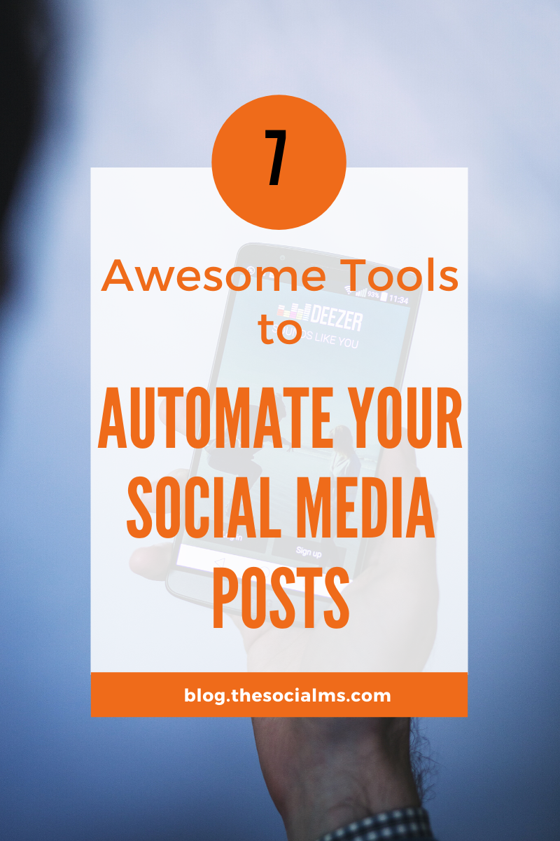when you are looking for traffic to your blog or business, automation is important - or rather a necessity. here are 7 social media automation tools that will help you schedule your social media posts and achieve the best results with a minimum of time investment. #social media #socialmediatools #marketingautomation #automationtools #socialmediatips #socialmediamarketing