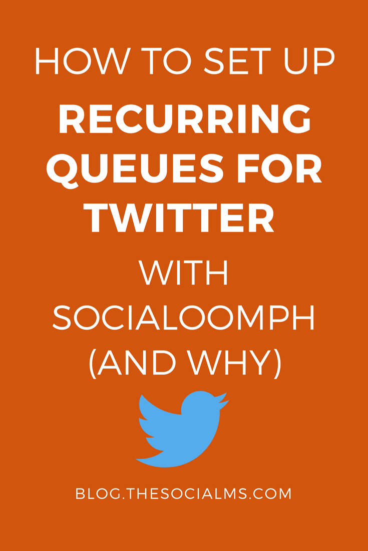 One of the most effective ways to automate your Twitter account is to set up recurring queues for Twitter with SocialOomph - here is how to get it right. - twitter marketing automation, twitter marketing tips, social media marketing, marketing automation