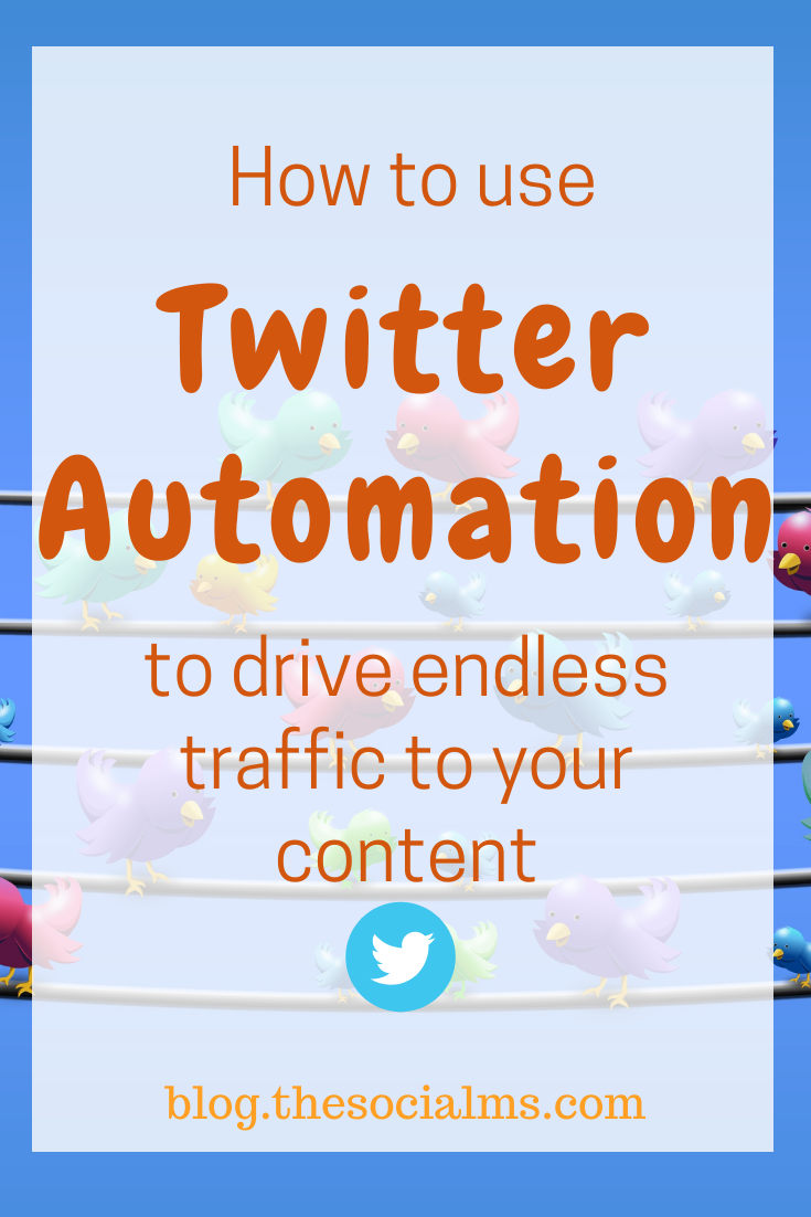 The most effective way to automate your tweets is to set up recurring queues for Twitter. This automation method allows you to automate the boring tweeting and free up your time to engage with your audience. This is also an awesome way to send traffic to your older blog posts! #twitterautomation #marketingautomation #socialmediamarketing #twitter #twittertips #socialmediaautomation