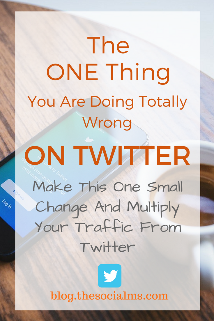 Getting traffic from Twitter is easy, right? Maybe. But there is one very common mistake that can ruin your Twitter marketing - don't make it! Twitter marketing tips, traffic from twitter, how to get traffic from twitter, twitter tips