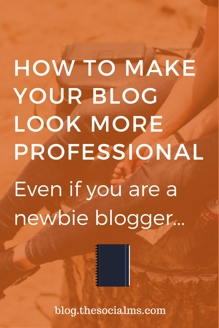 A good blog shows personality. But there are some things that don't look professional. Here are 7 ways to make your blog look more professional. blogging tips, start a blog