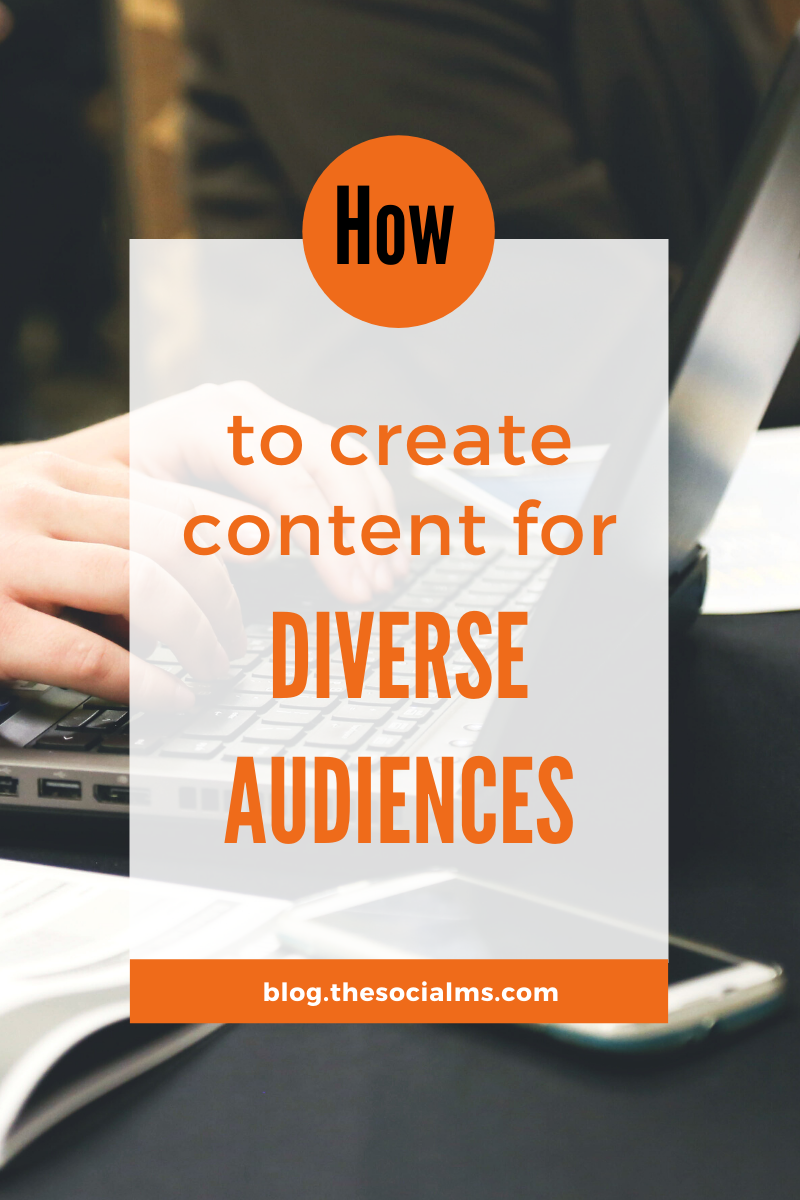 Creating content for a particular well-defined group of people sounds idea. But what if you are addressing diverse audiences? Here are 10 writing hacks that will help you create successful blog posts if your audience is diverse #contentcreation #blogpostcreation #blogwriting #contentmarketing #bloggingtips #blogcontent