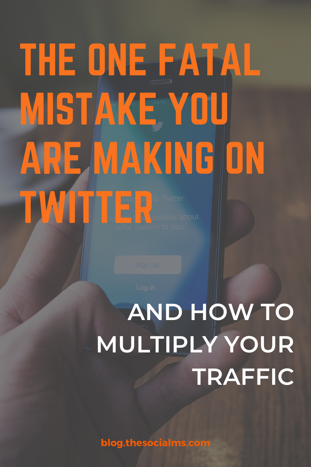 Getting traffic from Twitter is easy, right? So why aren't you seeing he traffic you hoped for and that your content deserves? Here is what you are doing totally wrong on Twitter! #twitter #twittertips #twittermarketing #twittermistakes #socialmedia #socialmediatips #socialmediamarketing