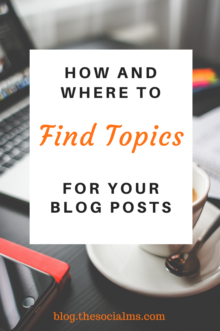 Did you run out of the ideas for blog posts? Can't find any new topics for your blog? Here are creative ways to find inspiration and come up with new topics for your blog audience. #bloggingtips #bloggingideas #blogtopics #bloggingforbeginners #startablog #blogwriting #blogpostcreation