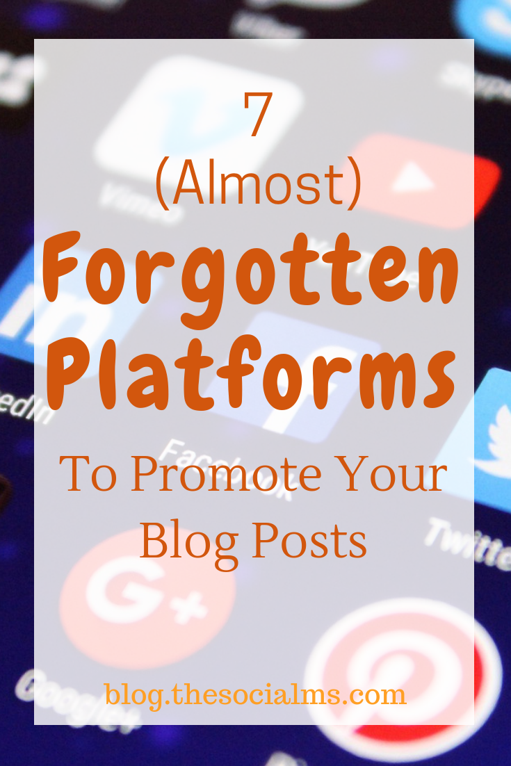 There are secret champions between the various platforms where you can promote your content. Here are 7 platforms you should consider to promote blog posts. Get more blog traffic for free from these new blog traffic sources. #bloggingtips #blogtraffic #blogpromotion #startablog