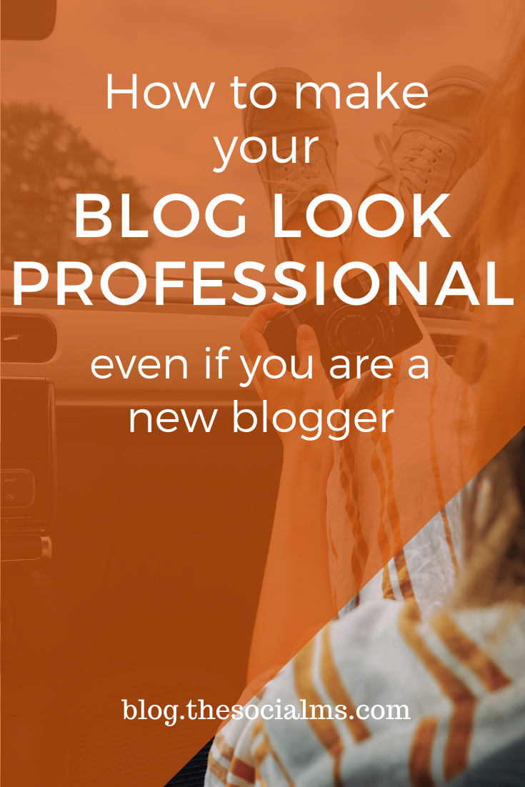 Here are 7 ways to make your blog look more professional, even when you are just starting out with a new blog, and without spending loads of money. #bloggingforbeginners #startablog #bloggingtips #creeateablog #bloggingsuccess