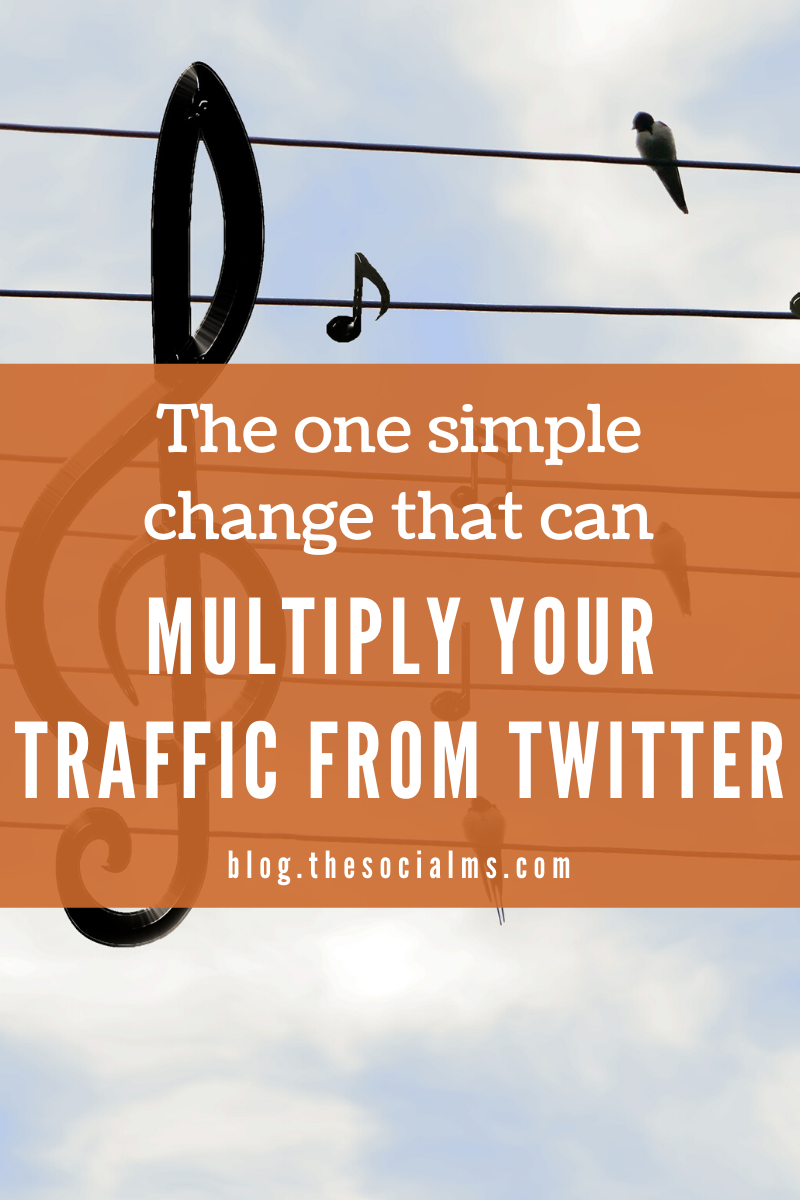 There is one tiny mistake that many Twitter users are making just because they do not know how to do better. This mistake can easily be avoided - and you will instantly see your traffic grow. #blogtraffic #trafficfromtwitter #twitter #twittermarketing #twittertips #socialmedia #socialmediatips #socialmediamarketing