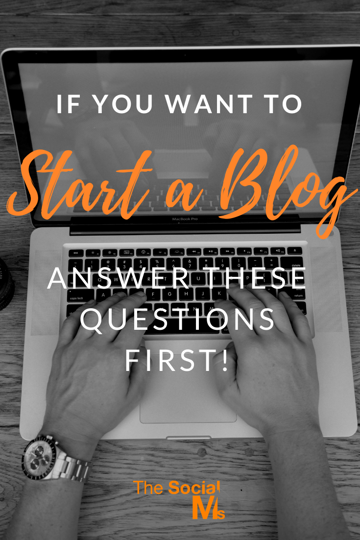 If you want to start your blog with a plan and a strategy and head straight for success, you need to have an idea how you will go about it. The following questions will help you to get your blogging venture on the right track. #startablog #bloggingforbeginners #bloggingtips #bloggingsuccess