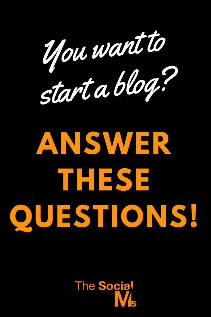 you can make blogging a lot easier if you think it through – and start prepared. Think about the answers to these questions before you start your blog. #startablog #bloggingforbeginners #bloggingtips #bloggingsuccess