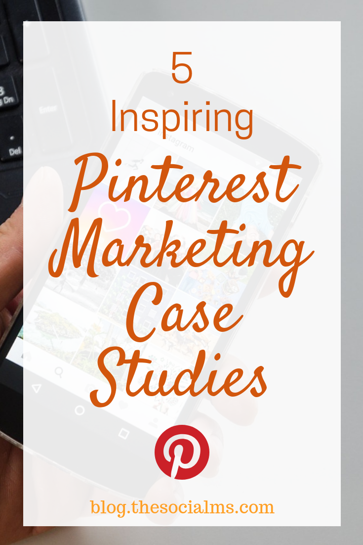 Pinterest has marketing superpowers. These Pinterest marketing case studies show how much you can gain from using Pinterest in your marketing strategy. Learn from these Pinterest success stories and improve your Pinterest results. #pinterest #pinerestmarketing #pintereststrategy #pinteresttips