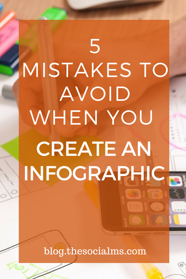 When it comes to internet marketing, infographics are the must. If you want to create your own infographic here are 5 mistakes you should avoid.