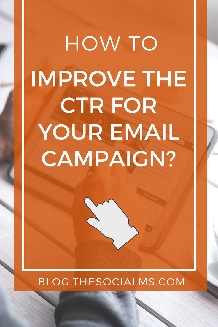 Email marketing can work wonders for your business, but you will need to enhance your click-thru rate (ctr) if you want to get the most from your effort.