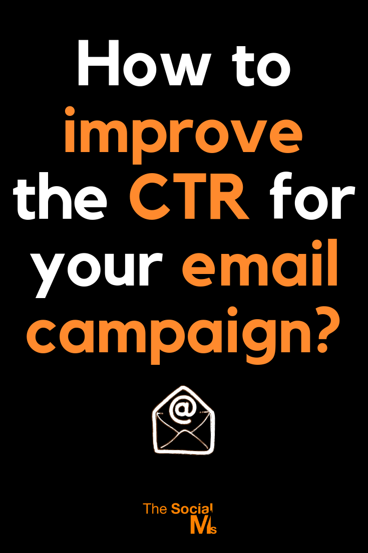 Email marketing is the perfect way for any marketer to make an impact in their industry, butoptimizing your click-through rate is vital. Learn how to get better CTR for your email campaigns. #emailmarketing #newsletter #ctr #bloggingtips