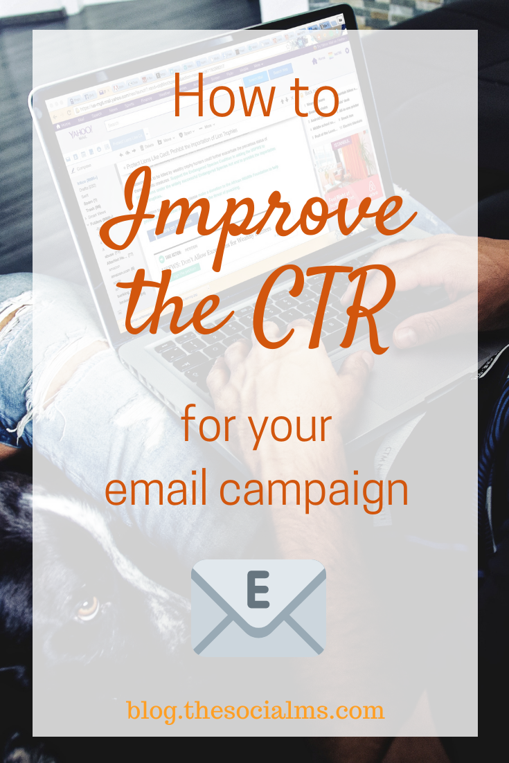 Email marketing can work wonders for your business if you use it correctly, but you will need to enhance your click-thru (CTR) rate if you would like to get the most from your effort. #emailmarketing #emailcampaign #listbuilding #newslettermarketing