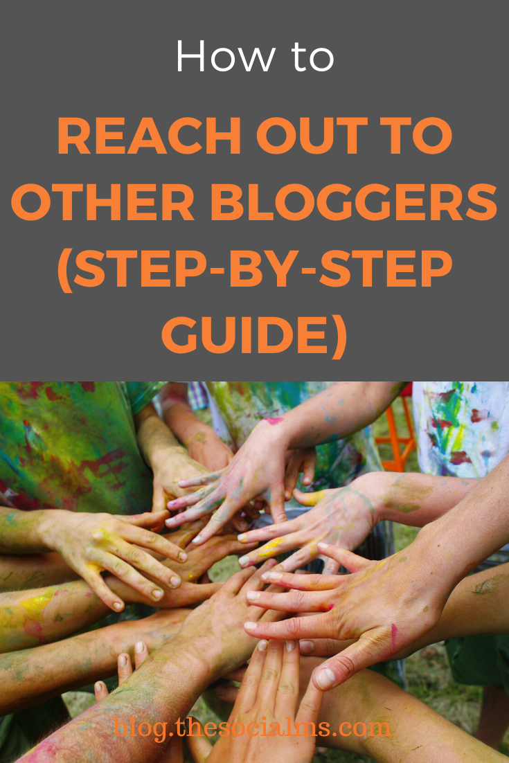 There are a few reasons you might need to outreach to other bloggers. Here is a step-by-step process for blogger outreach for more blogging success #bloggingtips #bloggeroutreach #bloggingforbeginners #bloggingsuccess #startablog