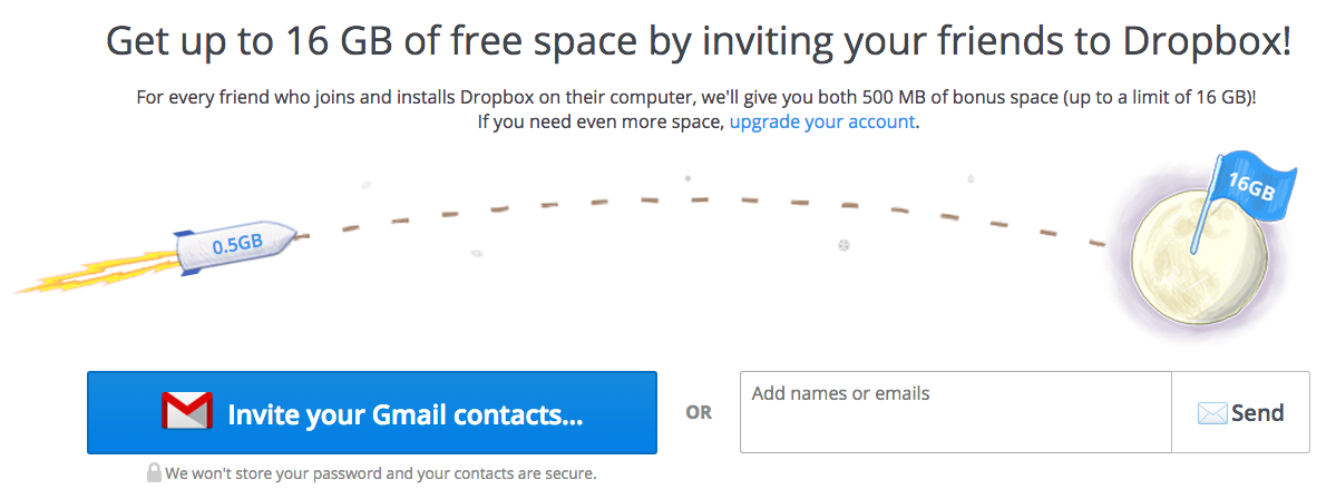 DropBox Grow Traffic