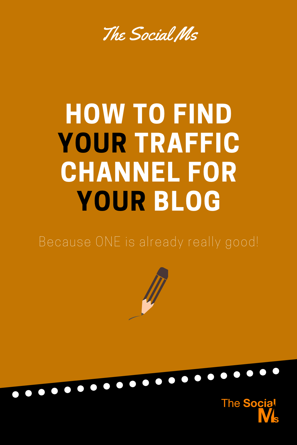 How many traffic sources do you really need for your blog? And how can you find the best traffic source for your blog? #blogtraffic #trafficgeneration #blogging101 #startablog #bloggingtips #blogaudience #trafficchannel bloggingsuccess