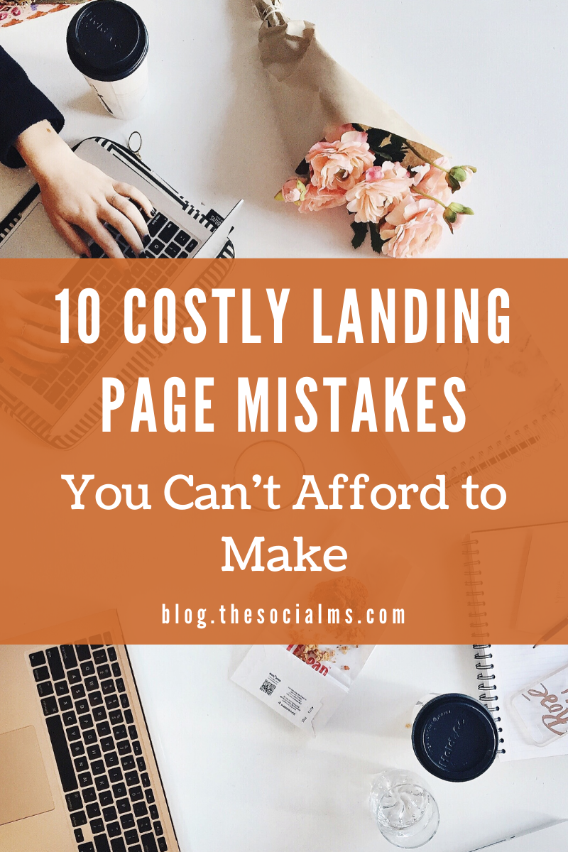 The landing page is an important step in your sales funnel. Once the ads get their curiosity, your landing page will make them convert into real customers.  Go through this list of errors and make sure you have checked all these details. It will improve your customer retention and conversion rate. #salesfunnel #leadgeneration #makemoneyblogging #onlinebusiness #conversionrates #smallbusiness #entrepreneurship
