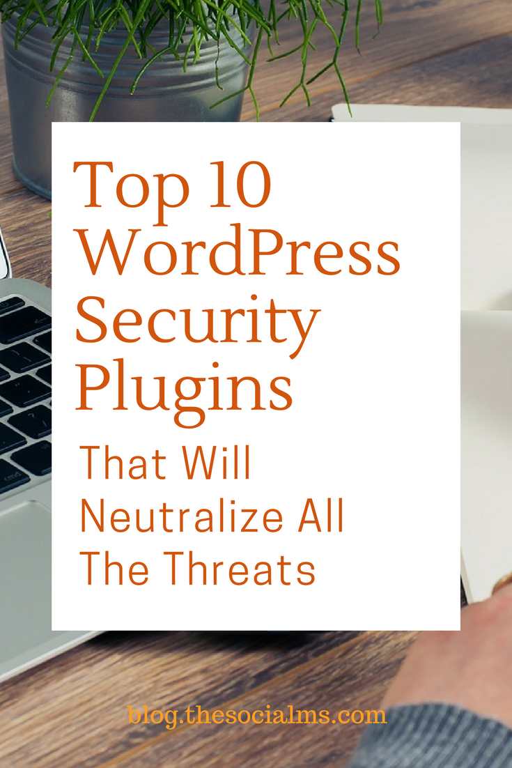 WordPress is the first choice for website owners. This makes it a target for hackers. Here are 10 WordPress Security Plugins to help secure your website. blogging tips, wordpress plugins, wordpress tips