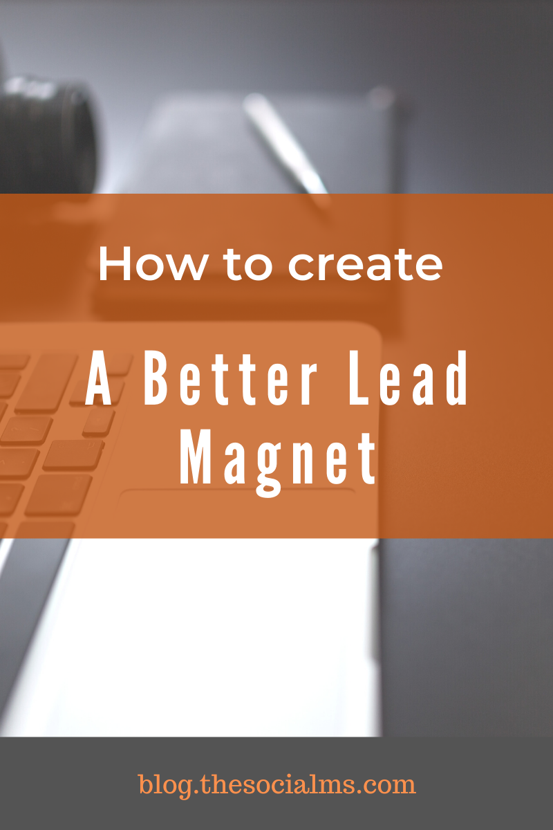 It is not enough to offer something for free to attract tons of signups to your email list. Only the right offer at the right time will grow your email list with the right people from your target audience. #leadmagnet #leadgeneration #emailmarketing #listbuilding