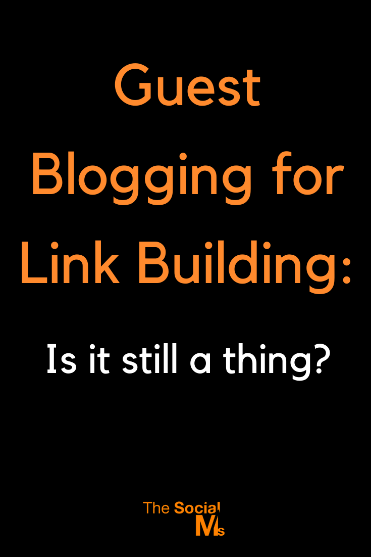 Does guest blogging for link building still work? Here is how to use guest posting to build links and grow your audience with Google #blogtraffic #seo #guestblogging #guestposting #linkbuilding #bloggingtips