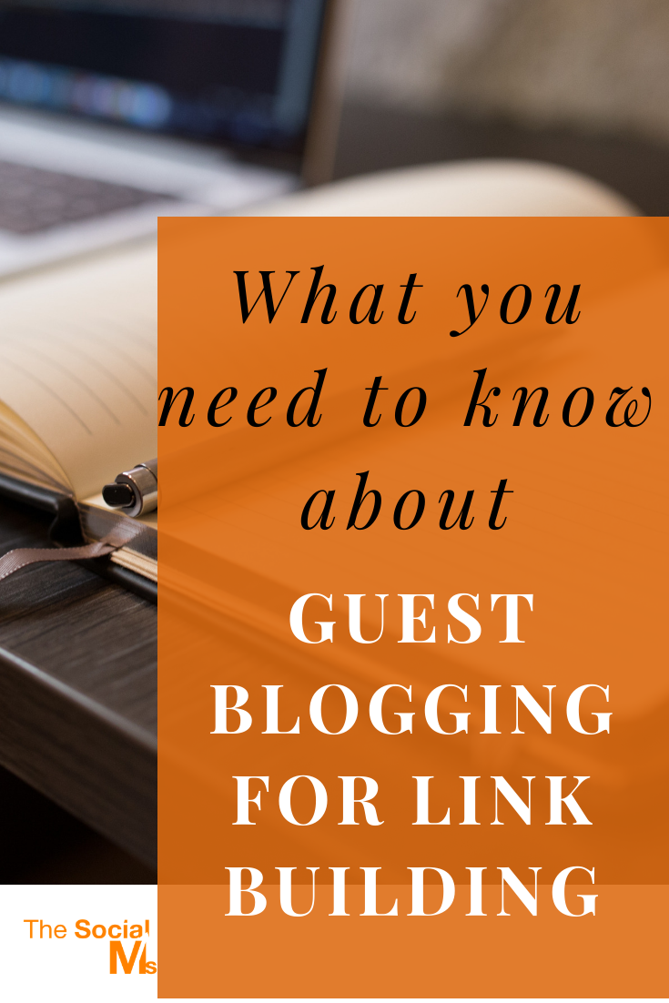 Guest blogging for SEO and link-building can still work but you have to be careful to comply with Google's rules. Here is what you need to know about guest blogging to build your links and search traffic. #guestblogging #guestposting #bloggingtips #seo #blogtraffic #trafficgeneration
