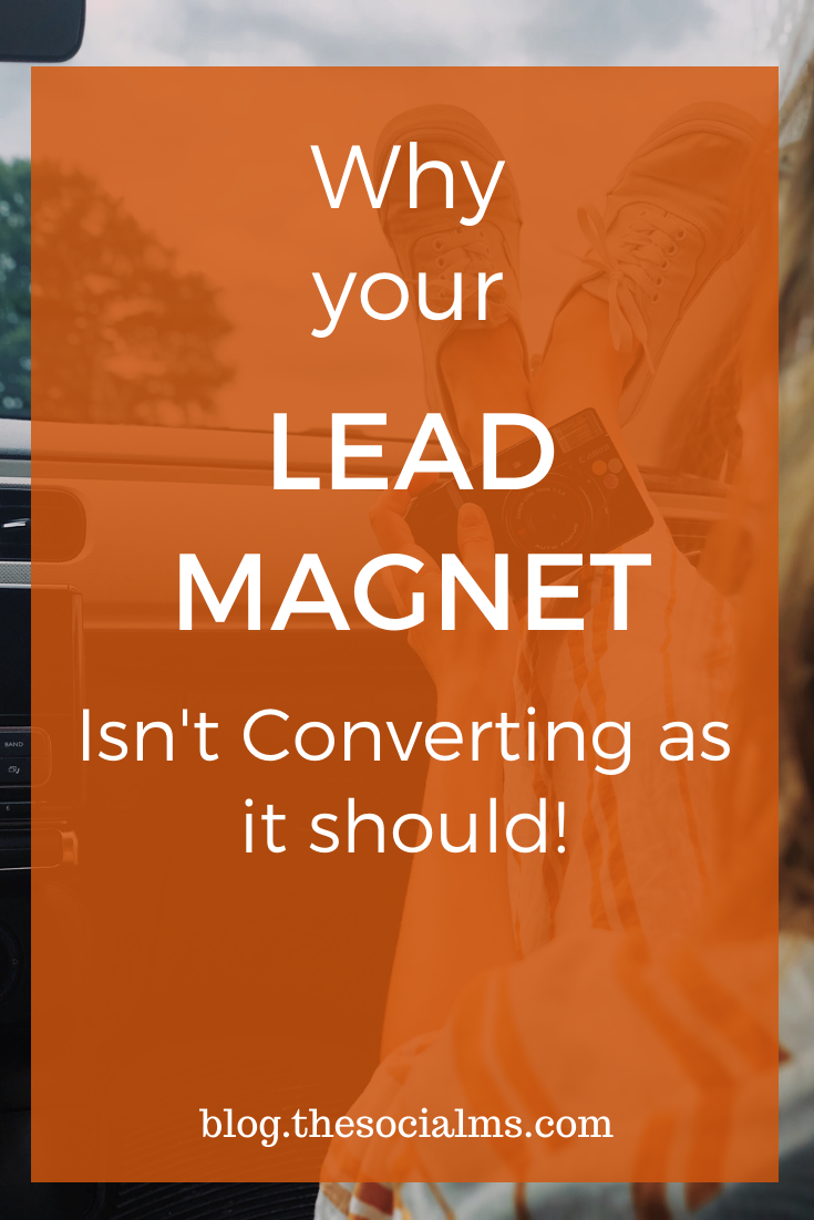 There are many tips on what you should offer as a lead magnet or freebie. But it is a little more complicated to create and offer a great lead magnet that converts hundreds or even thousands of subscribers. Here is what you need to know. #leadmagnet #leadgeneration #emailmarketing #emaillistbuilding #listbuilding