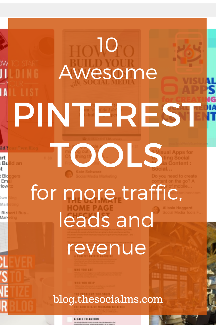 To unlock the full traffic power of Pinterest, you need the help of tools. Your Pinterest marketing starts with creating pin images. But there are a ton of other features and best practices for Pinterest where the right tool can be a total game-changer. Check out these Pinterest tools that I found very useful. #Pinteresttools #Pinterest #Pinterestmarketing #Pinteresttips #socialmediatools #marketingtools