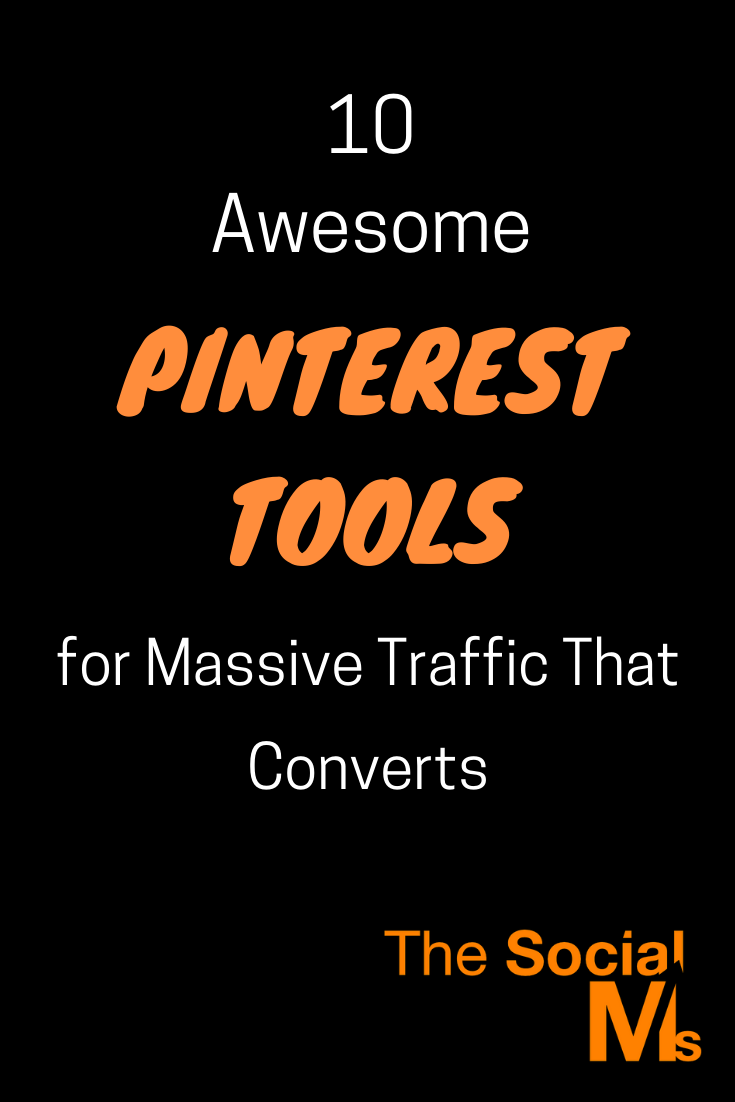 Pinterest can be awesome to drive traffic to content and even product pages. But to unlock the full power of Pinterest, you will need the help of some tools. #pinterest #pinteresttools #socialmedia #socialmediatools