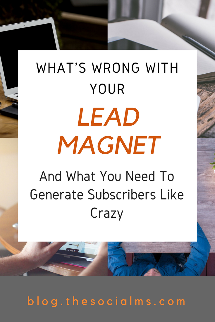 If you are trying to grow your email list, you need a lead magnet. Not every freebie will get you subscribers. Here is what your lead magnet should have. How to grow your email list with lead magnets and freebies. How to convert your audience into subscribers, email list building