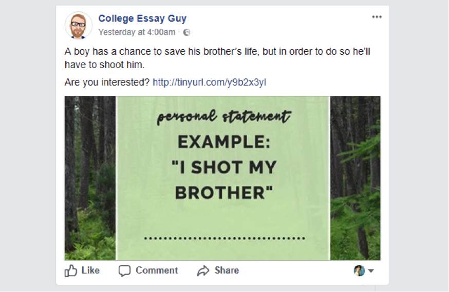 post essay facebook Social media is a phrase that we throw around a lot these days, often to describe what we post on sites and apps like facebook, twitter, instagram, snapchat and others.