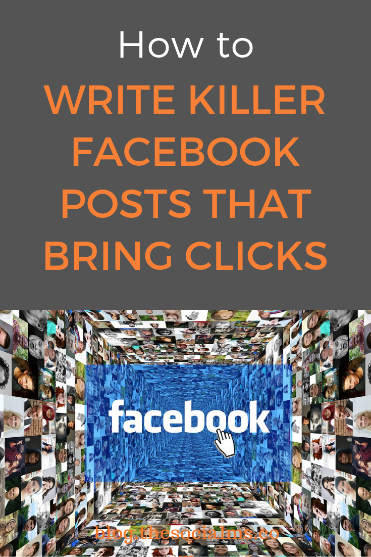 To make users see your Facebook post, like and click on it, and encourage them to comment on it for even better engagement rate, you need to write killer texts. Here is what your Facebook posts need to earn clicks. #facebook #facbookposts #facebooktips #facebookstrategy
