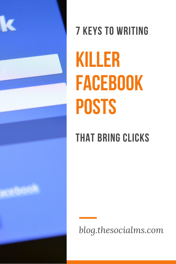 To make users see your Facebook post, like and click on it, and encourage them to comment on it for even better engagement rate, you need to write killer texts. For that, consider the following key points your competitors might miss. #facebook #facebooktips #facebookmarketing #socialmedia #socialmediatips #socialmediamarketing