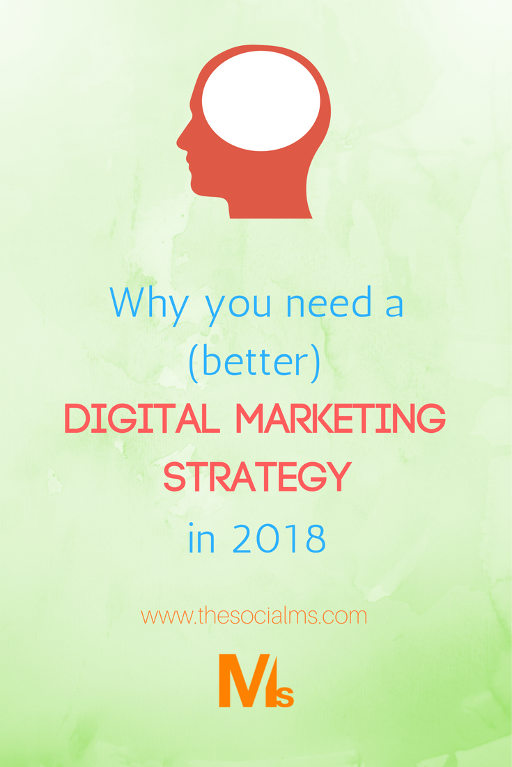 "In 2018, simply going online and ""trying a few things on Facebook"" isn't enough for marketing success. Digital is now established - and you need a digital marketing strategy to succeed."
