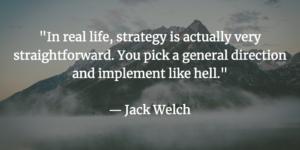 Digital Marketing Strategy Jack Welch