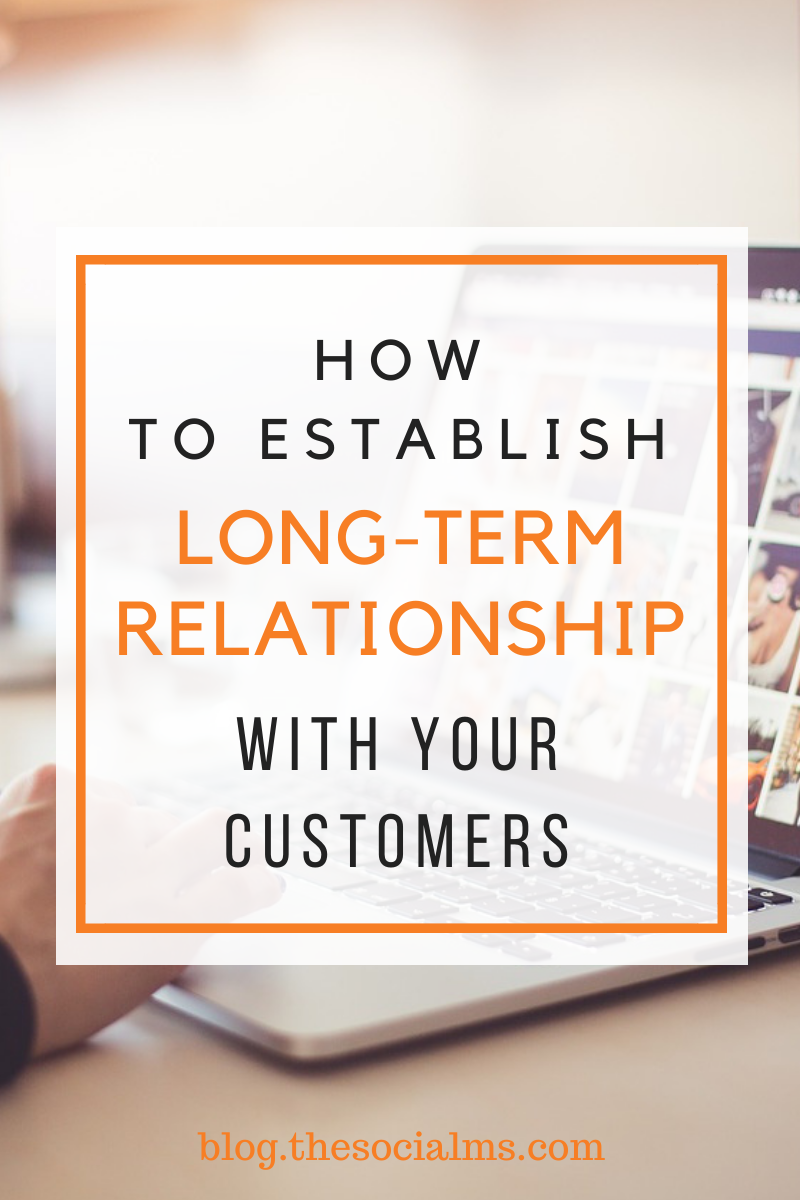 Long-term loyalty is a tricky subject to tackle for its fragility – it's far too easy to lose the goodwill of your customers. Here are some tips on how to build and cater for your relationship with your customers #onlinebusiness #customerservice #salesfunnel #leadgeneration #smallbusiness #entrepreneurship