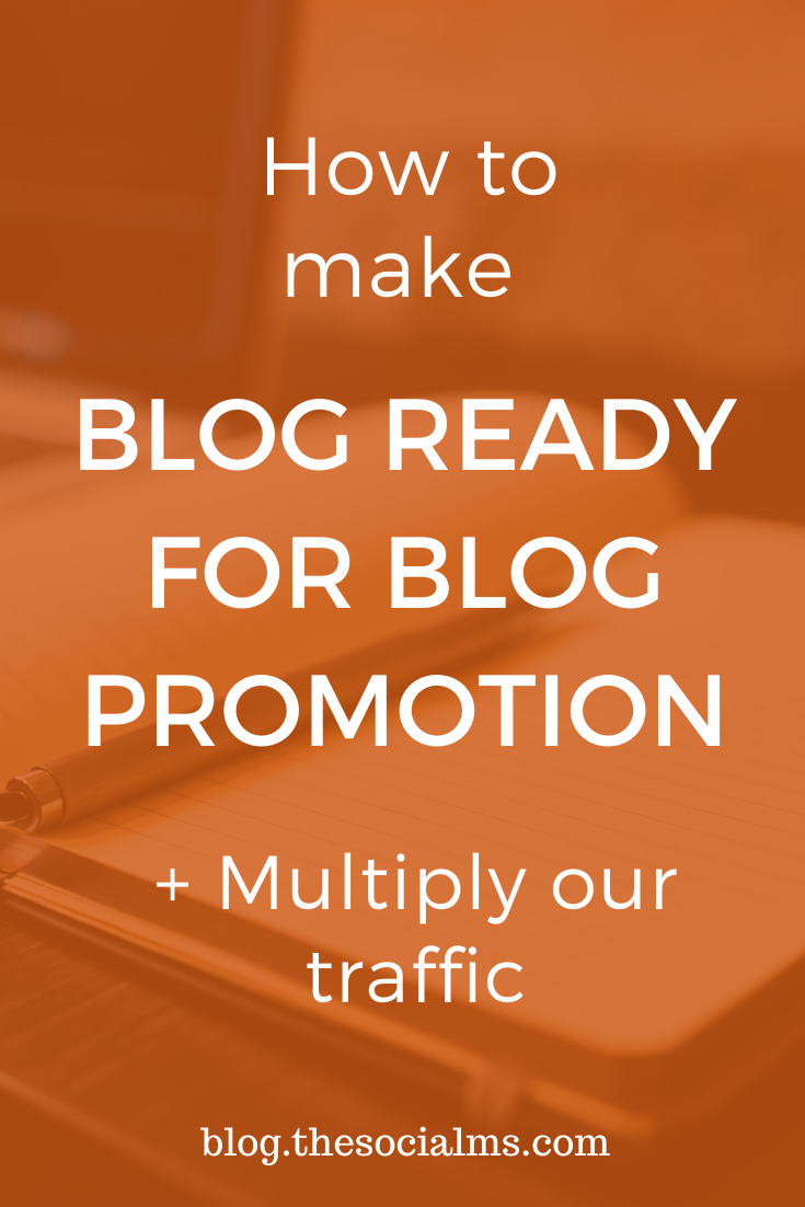 There are some things you need to consider for your blog promotion even before you publish a post – or your blog promotion efforts will not result in traffic leads and customers as you were hoping for. #bloggingtips #blogpromotion #bloggingsuccess #blograffic