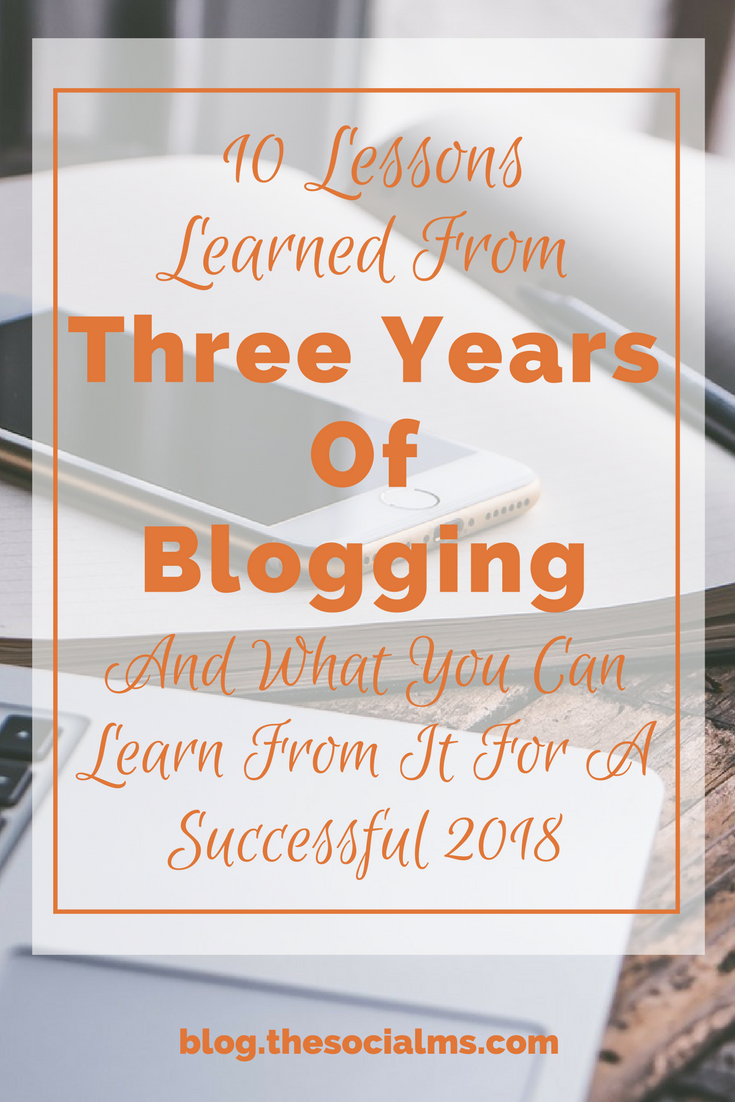 Here are the main blogging lessons we learned from the past three years of blogging and all the ups and downs that came with it. blogging tips, blogging for beginners, blogging for money, blogging 101,