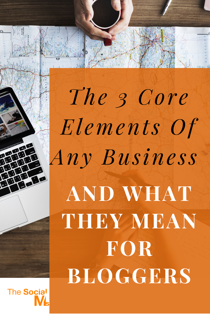 These are in my opinion the core elements of any business. Sadly they are often neglected online. Here are the three core elements of a business that you have to know as a blogger. #bloggingbusiness #smallbusinessmarketing #onlinebusiness #bloggingtips #bloggingsuccess #startablog