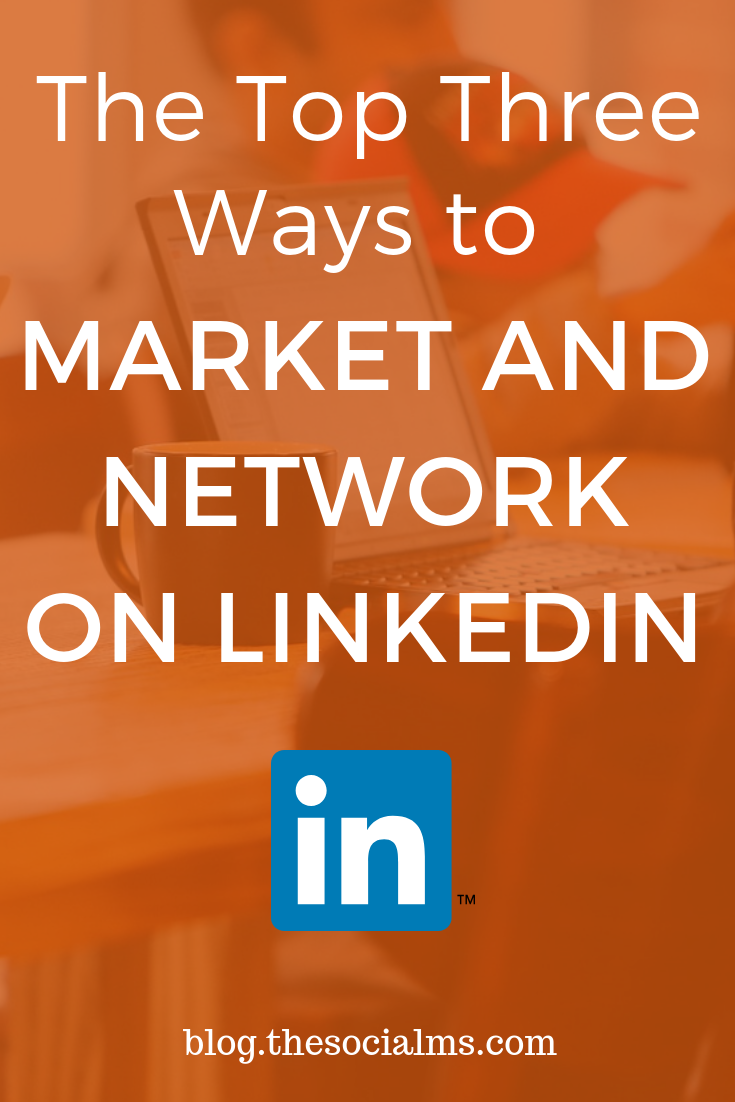 LinkedIn serves as the perfect site for promoting your connection to your brand and company. Through your professional and personal profiles, you get to create the sort of first impressions that will either make or break a relationship. Here is how to market and network on LinkedIn for more business and blogging success. #onlinebusiness #linkedin #networking #linkedintips