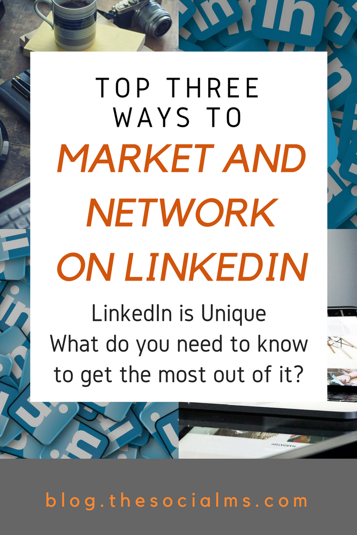 LinkedIn is a little different: What ways can you market and network on LinkedIn that are unique compared to other social media platforms? LinkedIn tips, LinkedIn for beginners, LinkedIn profile, LinkedIn for business, LinkedIn marketing, how to use LinkedIn